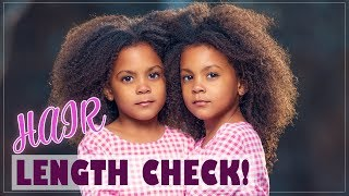 Video LENGTH CHECK! OUR HAIR HAS GOTTEN SO LONG! MP3, 3GP, MP4, WEBM, AVI, FLV Februari 2019