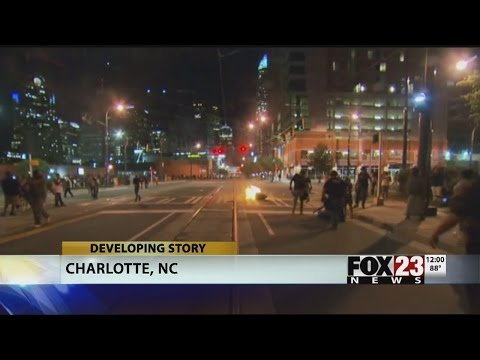 VIDEO: National Guard comes to Charlotte, curfew considered