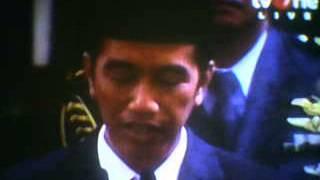 Pidato Pertama Jokowi Menjadi Presiden RI ............. (2)