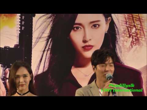 Lee Min Ho in Hong Kong  Hollywood Plaza 20160722 movie Bounty Hunters press con