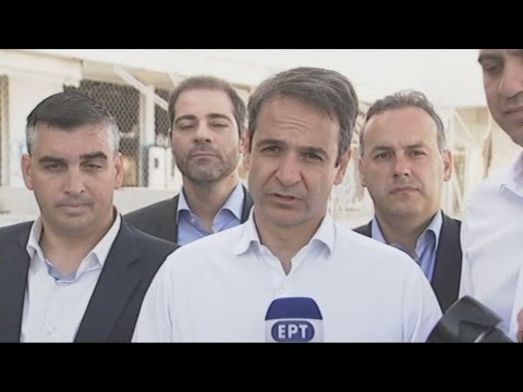 Την εκκένωση του Ελληνικού ζήτησε ο Κυριάκος Μητσοτάκης