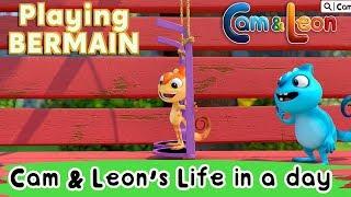 Video Learning Bahasa Indonesia | Cam & Leon's Life in A Day | Cam & Leon MP3, 3GP, MP4, WEBM, AVI, FLV Januari 2019