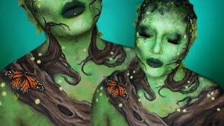 In this third installment of my Elemental Makeup Tutorial series, meet Earth aka Mother Nature! Use body paints to create mossy textures, lifelike branches and wood, and a few painted on bugs and butterflies. You could even cosplay as TE FITI from Moana with this look! ;)Hope you guys enjoyed it, and please subscribe if you haven't already! Share along if you like it, it helps so much! FIRE ELEMENTAL: https://youtu.be/NBx5qIkuJY0AIR ELEMENTAL: https://youtu.be/ttzTniddv8wFOLLOW ME:Instagram: @jordanhanzhttp://www.instagram.com/jordanhanzTwitter: @jordanhanzhttp://www.twitter.com/jordanhanzSnapchat: jordan_hanzFacebook: Jordan Hanzhttps://www.facebook.com/pages/Jordan-Hanz/295184987353909?fref=tsTwitch TV: Jordanhanzhttp://www.twitch.tv/jordanhanzPeriscope: @jordanhanz (for LIVE streaming)________________________________________//PRODUCTS USED:Mehron Makeup Paradise Paints in colors Lime, White, Black, Amazon Green, Dark Brown, and DijonMORPHE 35O palette for the brown eyeshadowNYX Cucumber Jumbo PencilNYX Drama Queen lashesMehron Liquid latex// MUSIC  SOUNDS:provided by Monstercat: a paid monthly no copyrights song servicehttp://www.monstercat.comIntro: Cold Skin - Seven Lions & EchosBackground: Saving Light (feat. HAILENE) Gareth Emery & StanderwickFTC: Some of these links are affiliate links which I make a small commission percentage through. You don't have to use these links, but if you would like to support me in that way you're welcome to! I only promote products that I one hundred percent believe in and adore, I got chu guys. ;)