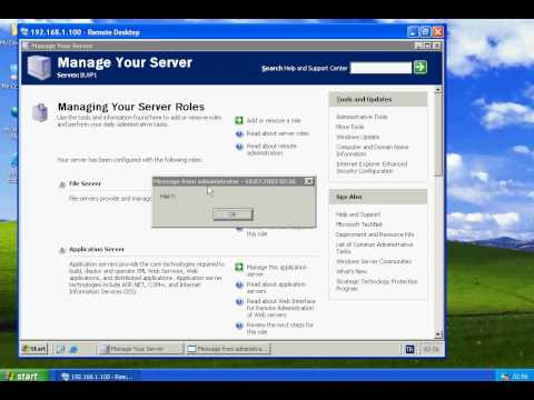 Windows Server 2003 - Terminal Server Usage
