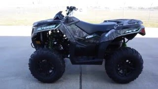 5. $10,899:  2016 Arctic Cat Alterra 700 XT Camo EPS Overview and Review