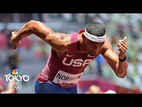 Michael Cherry, Michael Norman make 400m final with Wayde van Niekerk | Tokyo Olympics | NBC Sports