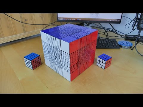 Giant 22 22 Rubik  s Cube Is A World Record