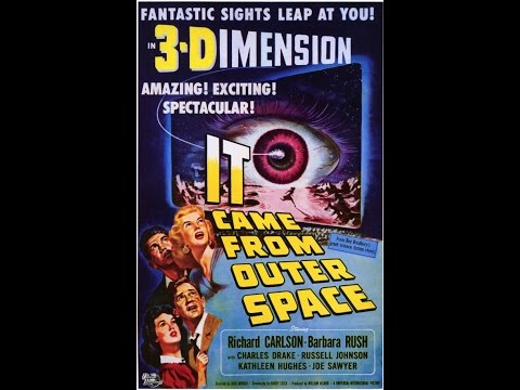 Classic Movies & More - Preview #ItCameFromOuterSpace New Restoration 3-D Bluray