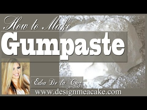 How To Make Gumpaste