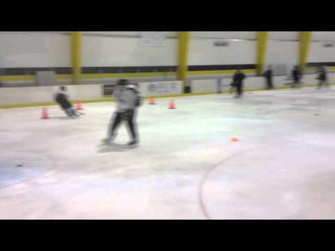 Inside Edge Power Skating Hockey Drill w/ Puck – Pittsburgh, PA