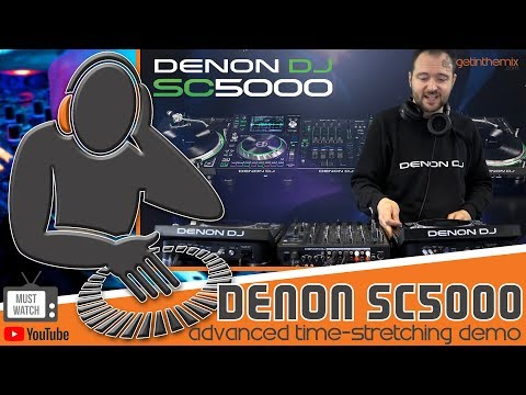Denon SC5000  - Advanced Time-Stretching Demo