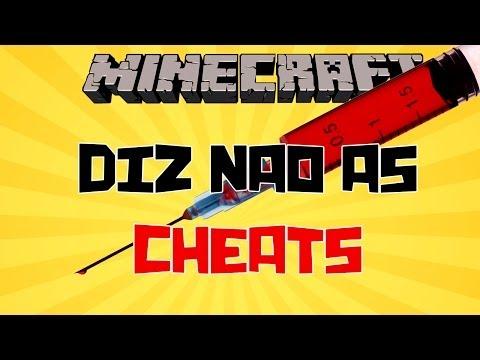 Diz Não às Cheats no Minecraft