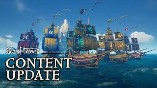 Апрельское обновление для Sea of Thieves добавит в игру много нового, в том числе... кошек