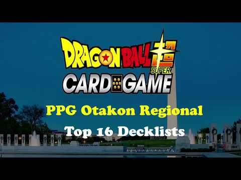 PPG Otakon Regional Top 16 Decklists