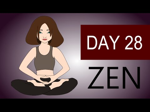 Zen Meditation – Guided Zen Buddhism Meditation Zazen – Day 28