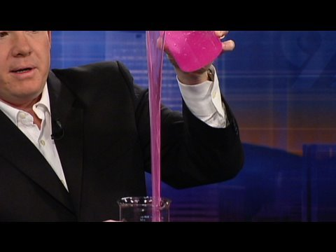 SteveSpanglerScience - Check out this and other cool science experiments at http://www.stevespanglerscience.com/experiments/ It's the molecule that stretches to the moon... or at l...