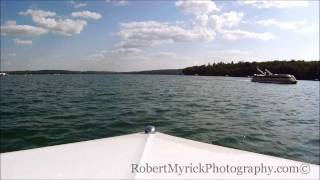 Driving Walloon Lake, MI - In MasterCraft 190 Ski Boat Walloon Lake is a glacier-formed lake located in Charlevoix and Emmet...