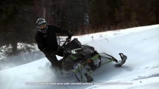 9. Lineup-ul de snowmobile Arctic Cat XF 2017 - Pachetul High Country