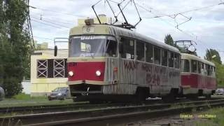 Nizhny Novgorod Russia  city pictures gallery : Нижегородский Трамвай М. Татра Tatra Trams in Nizhny Novgorod, Russia