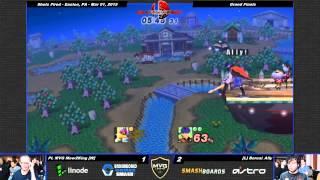 M2K's Falco + Ally's Ike = Destruction