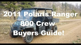 2. 2011 Ranger 800 Crew Buyer Guide