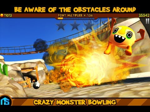 Video of Crazy Monster Bowling