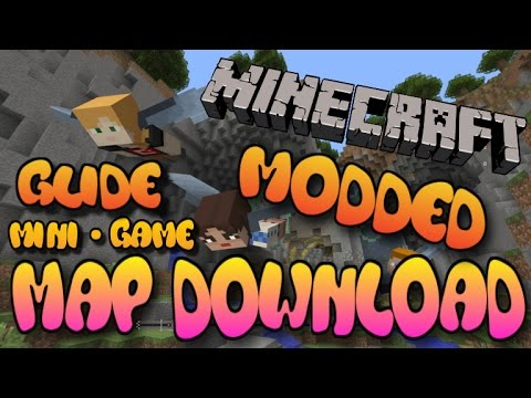Minecraft Xbox 360/One/PS3/PS4/PE/Wii U - Modded Glide Mini Game Map ...