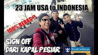 Pulang Kampung Dari Amerika Ke Indonesia  23 Jam     Vlogpesiarcrew