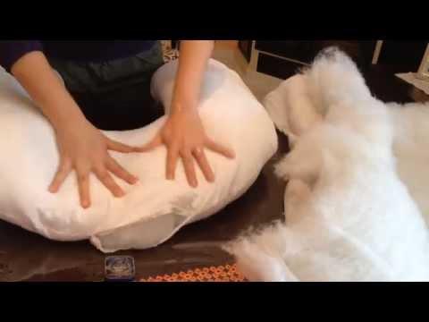 come cucire un cuscino allattamento