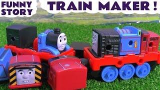 Video Thomas & Friends Train Maker - Toy Trains Funny Story with Minions - Family Friendly Fun TT4U MP3, 3GP, MP4, WEBM, AVI, FLV Mei 2017