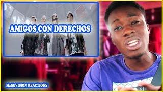 AMIGOS CON DERECHOS REACTION ! Reik Maluma - Amigos Con Derechos | MalikVISION