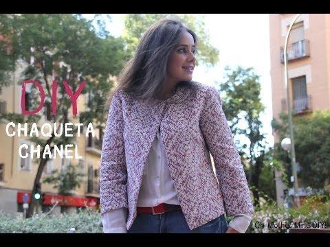 DIY Chaqueta Chanel (patrón gratis incluido)