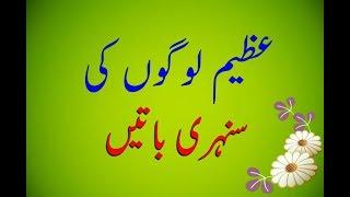 Top 21 Beautiful Whatsapp Status | Best Aqwal E Zareen | By Gold3n Wordz.