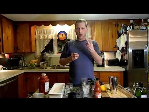 The perfect bloody mary by the cook at home dad