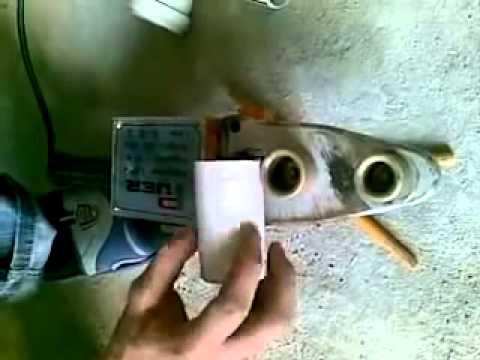 Делаем раструб канализационной трубы