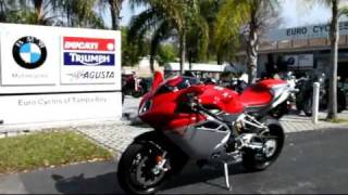 5. 2012 MV Agusta F4 1000R in Red