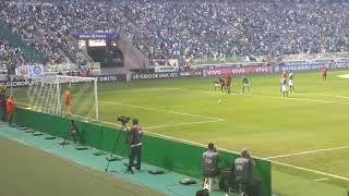 1° Gol do Palmeiras do Jogo Palmeiras 4X2 Vitória - Roger Guedes - 16/07/2017