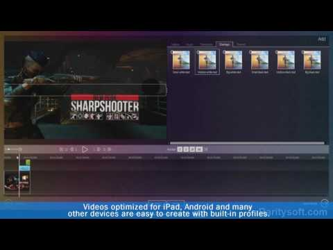 How to cut convert and produce movies - Ashampoo movie studio pro 2