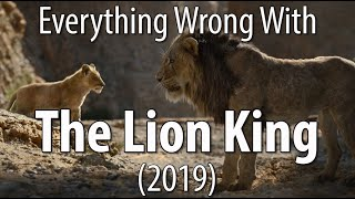 Everything Wrong With The Lion King (2019) In The Circle Of Minutes by Cinema Sins