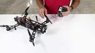 How to mount a QAV400G Gimbal to a QAV400 FPV Quadcopter