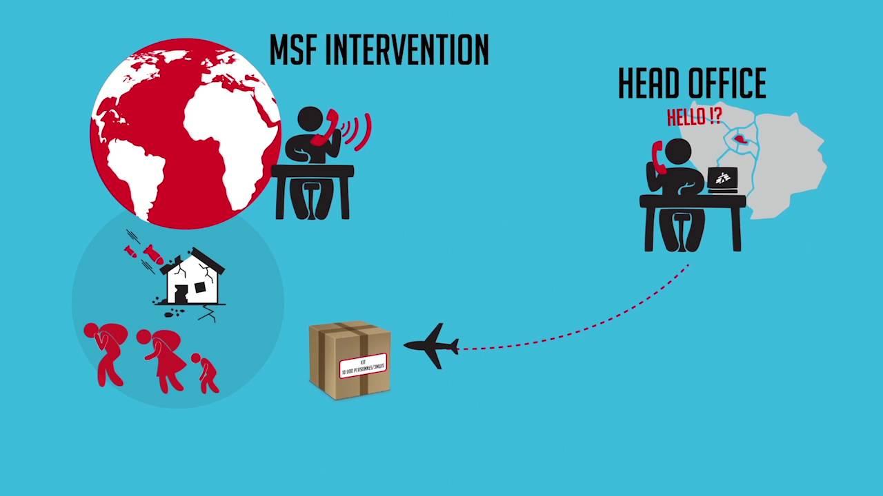 Η αλυσίδα εφοδιασμού των MSF