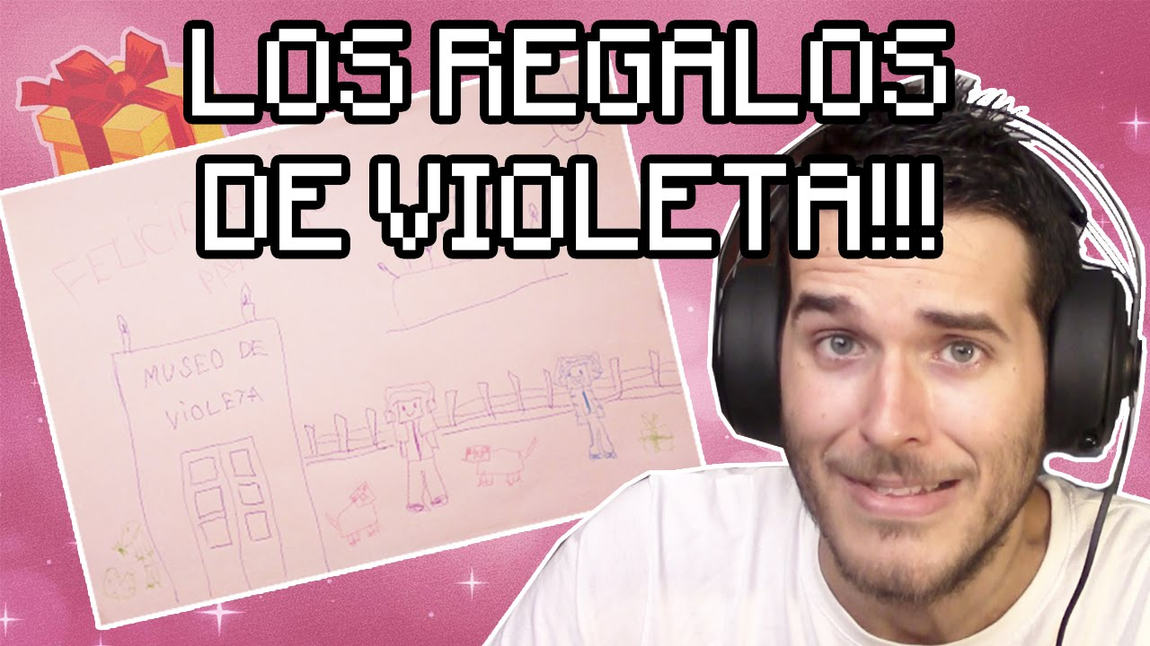 VIOLETA ME HACE REGALOS | MINECRAFT