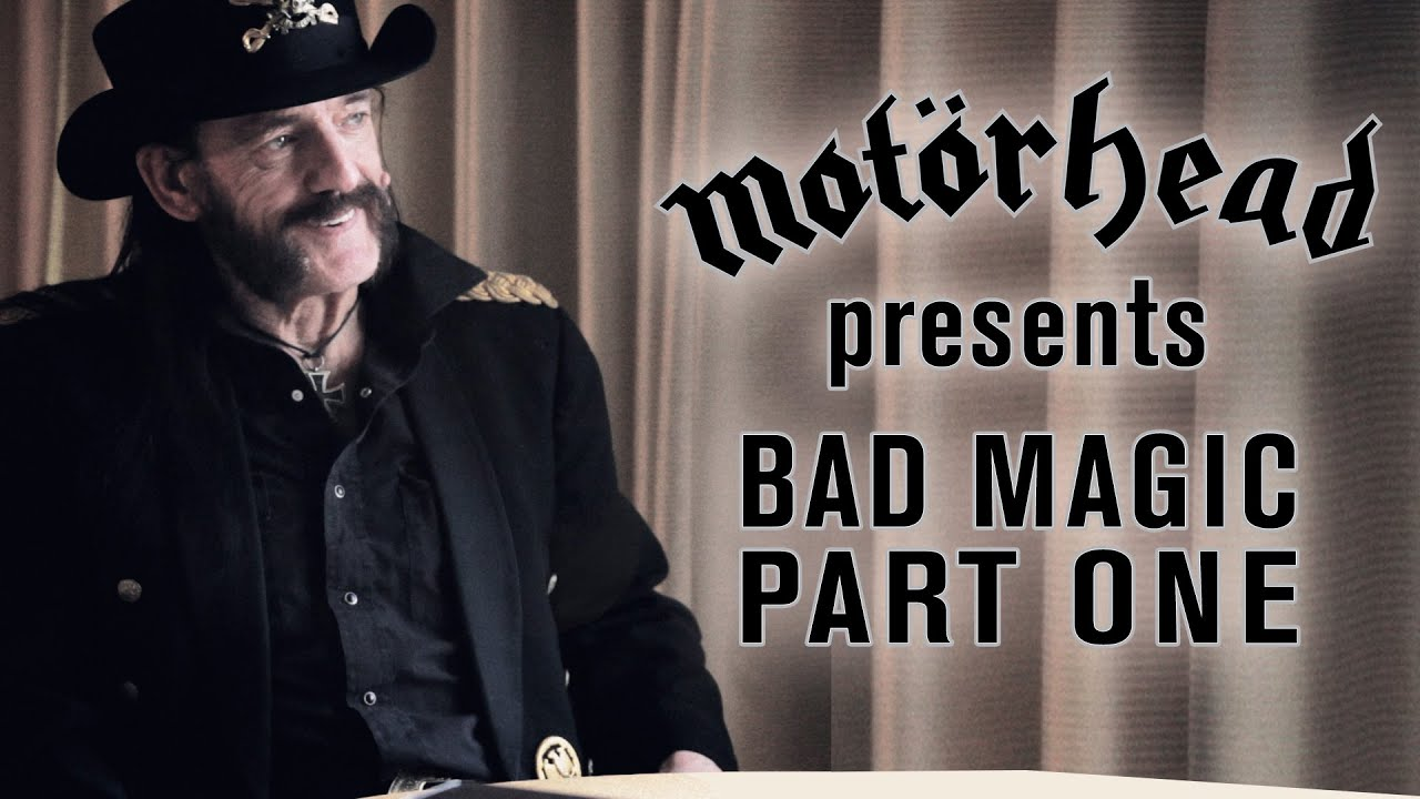 ASKiAN . MOTORHEAD . BAD MAGIC RELEASED TODAY AUGUST 28, 2015
