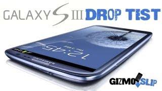 Drop Test: Samsung Galaxy S3 - YouTube