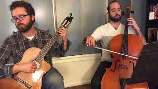Bizet - Habanera from Carmen for Cello and Guitar