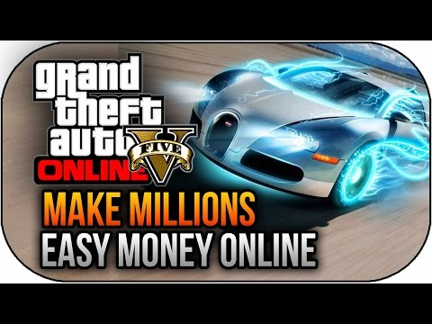 GTA 5 Online How To Make Money Fast – MILLIONS SOLO EASY ! (GTA 5 Gameplay)
