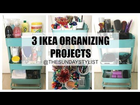 IKEA Organization & Storage Ideas || IKEA HACKS - RASKOG TROLLEY