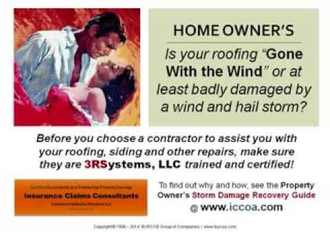 Homeowners Insurance Roofing Hail Claims Guide