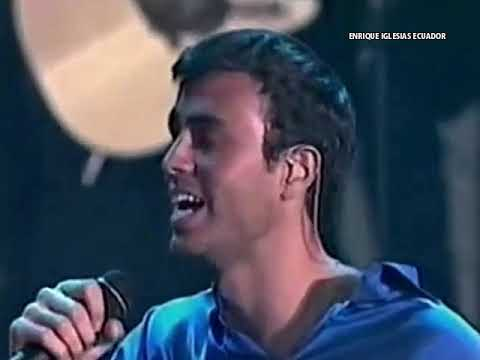Enrique Iglesias - Enamorado Por Primera Vez (en vivo)