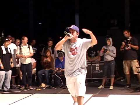 Scribble Jam - Scribble Jam 2006 - MC Finals - Tut vs Thesaurus Winner = Thesaurus.
